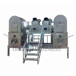 Beşik Tipi Çift Çarpmalı Helva Pişirme Makinesi