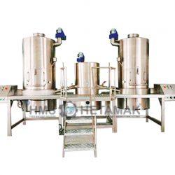 Çift Çarpmalı Helva Pişirme Makinesi