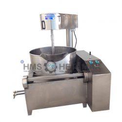 Krom Kazan Lokum Pişirme Makinesi